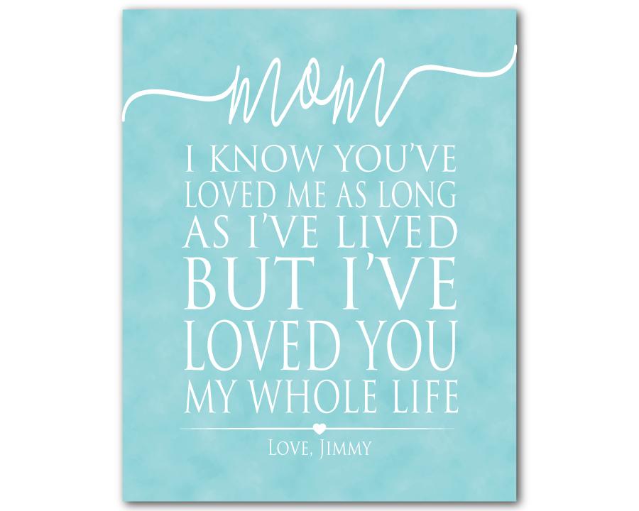 Mom Print