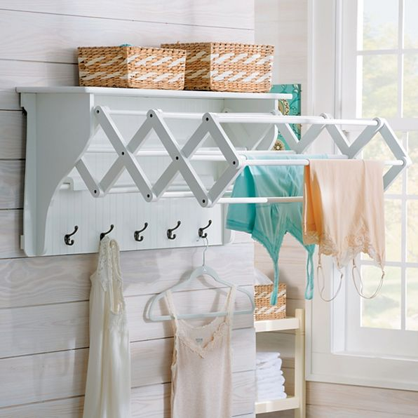 Accordian Drying Rack from Improvements