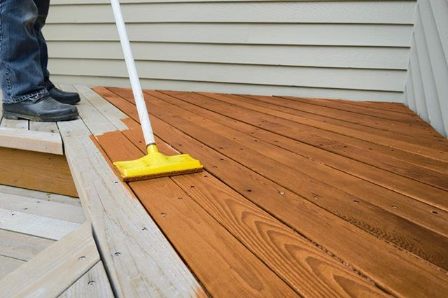 Give your deck a new finished look with wood protector, to protect it from water damage, prevent mildew & UV damage! Now only 15.99 at Doody Home Center! Check out our full list of month-long sales on our website!