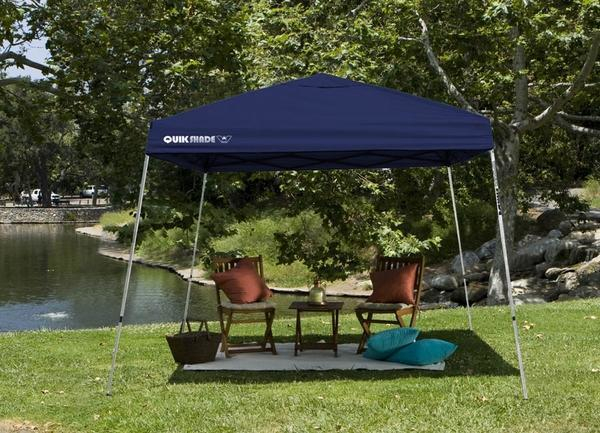A canopy is a perfect way to hide from the sun or the rain. Come to Doody Home Center for a 10 x 10in Shade Tech Instant Canopy for only 59.99, with coupon! Check out our full list of month-long sales on our website!