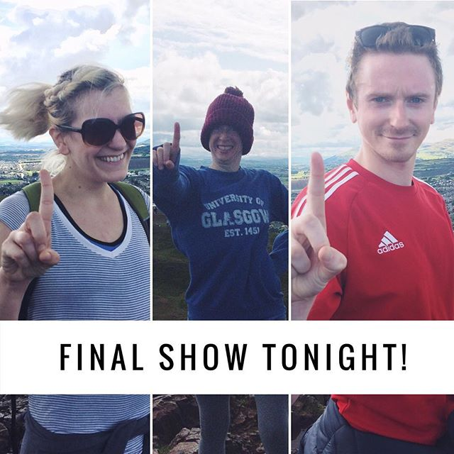 What's perfect way to celebrate your FINAL PERFORMANCE? Climb a mountain of course! The team made it to the top of Arthur's Seat today, closing off 5 incredible months of touring all over the world. Please join us tonight at @greensidevenues at 10PM for our FINAL show of Kara Sevda! . • You can always book 🎟 online or at the venue (link in bio)! x * * #NowWhatTheatre #EdFringe70  #edinburghfringefestival #summerfringetour #fringetour  #internationaltour #karasevda #karasevdatour #ClosingNight #Edinburgh #Scotland #willyoubeonthetrain