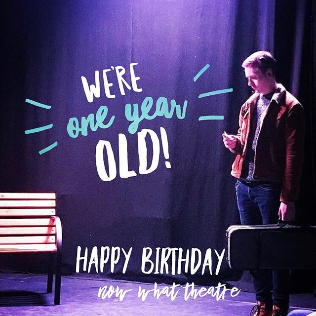 One year ago today Now What Theatre went live! We launched  our tour, website, and social media! Thank you for following along with us this past year - we can't believe it's flown by so fast! For a one year old, we've had some pretty magnificent adventures all over the world. But now, we're looking toward the future and as always we're asking - NOW WHAT?! x . . #NowWhatTheatre #KaraSevda #KaraSevdaTour #EdinburghFringe #SummerFringeTour #oneyearanniversary #oneyear #launch #happybirthday