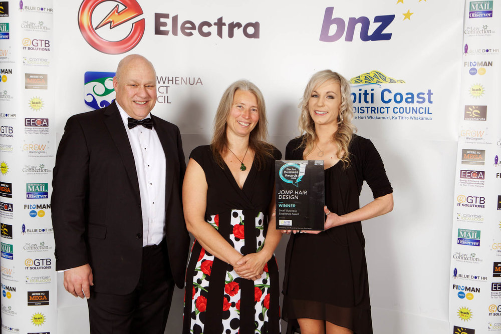 Electra Small Business Excellence Award and Employer of Choice Award 2014
