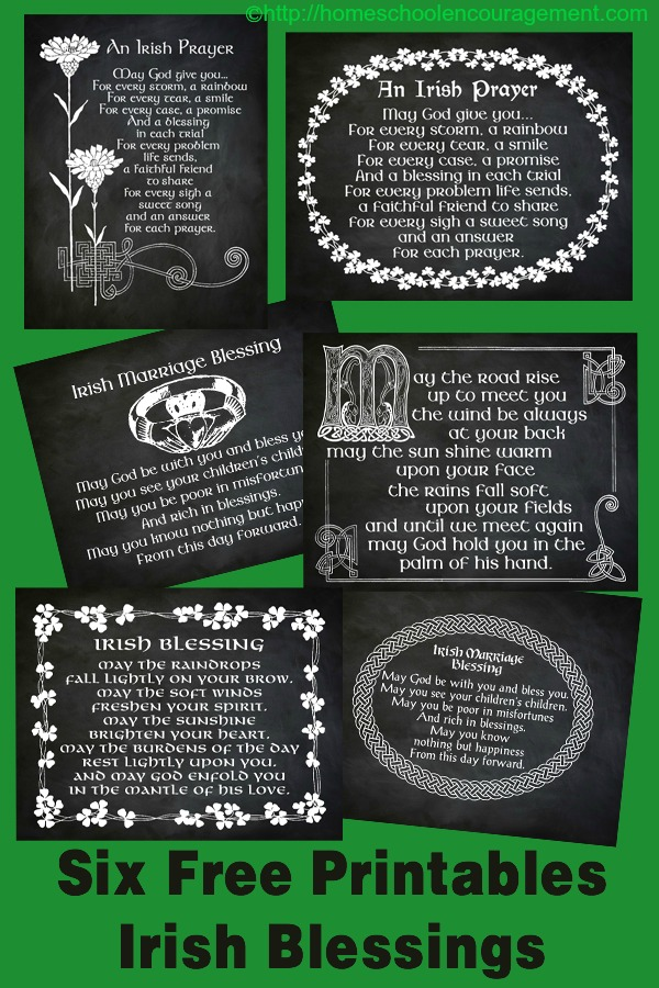 picture about Printable Irish Blessing called Cost-free Printables: Irish Blessings Trustworthy Bloggers