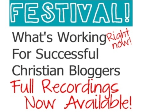 over 2 1/2 hours of interviews with Christian Bloggers who share their secrets on where they get traffic, earning money and more.