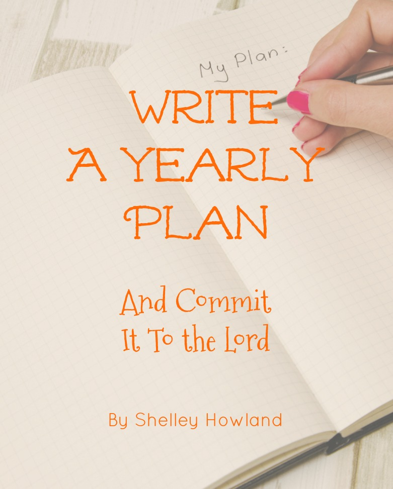 Write a Yearly PLan
