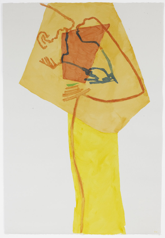 Pessoa 1 , acrylic on paper, 2016
