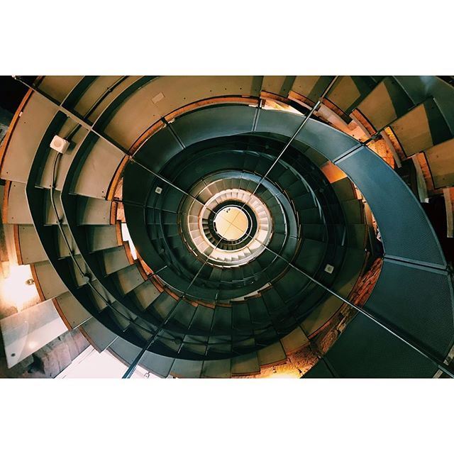 Intense Glasgow staircase.  #Escher #spiral #glasgow