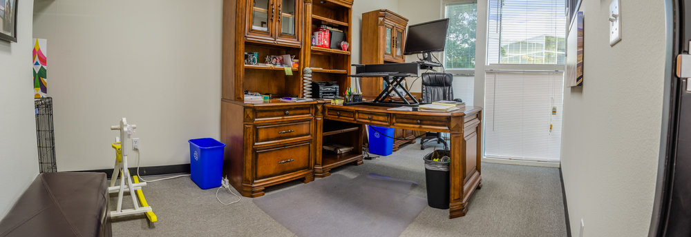 Private Office #1 Panoramic (Click To View)