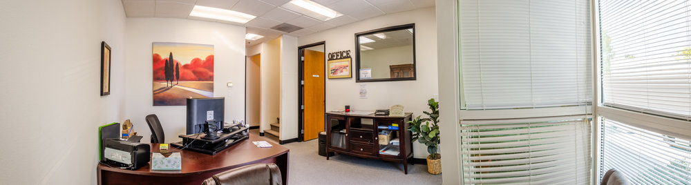Lobby & Open Office Panoramic (Click To View)