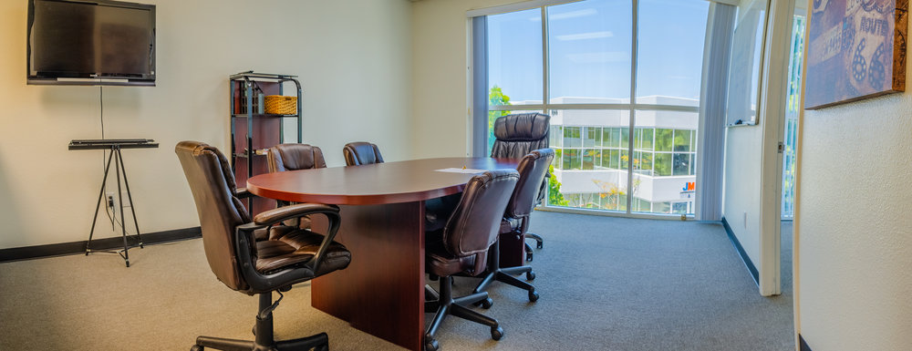 Top-Floor Open Office Panoramic (Click To View)
