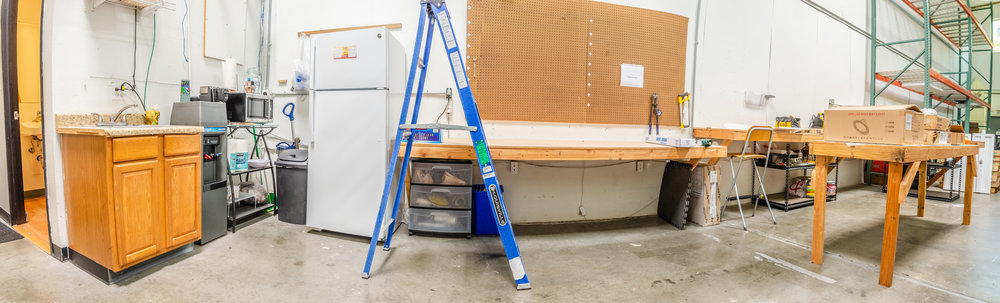 Warehouse & Kitchenette Panoramic (Click To View)