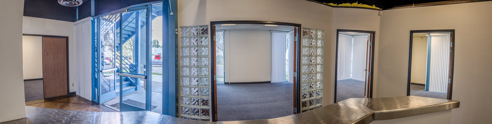 Lobby & Offices Panoramic (Click To View)