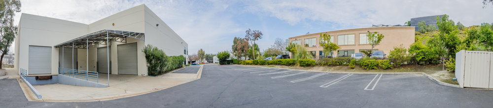 Loading Doors & Parking Panoramic (Click To View)