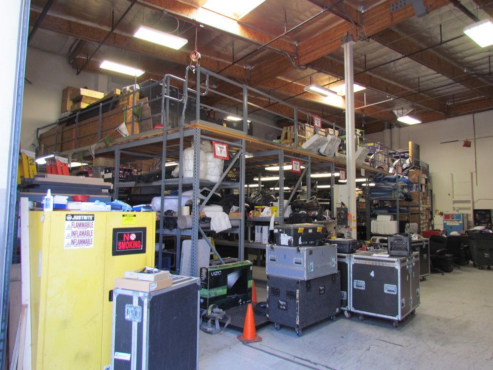 High-Clearance Warehouse