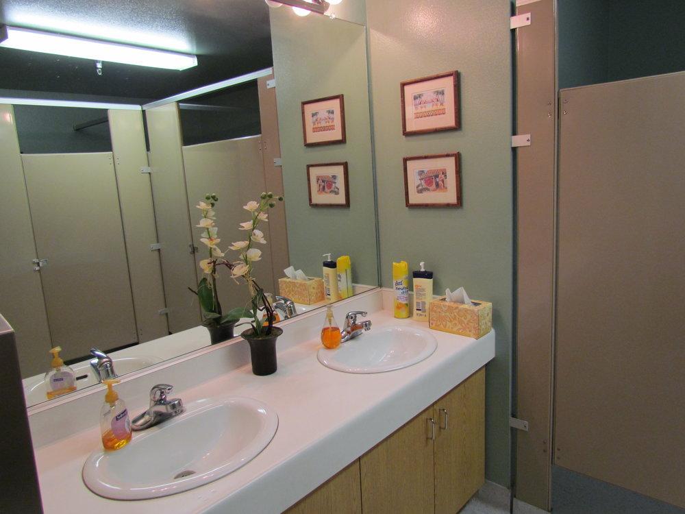 Upgraded Bathroom Facility