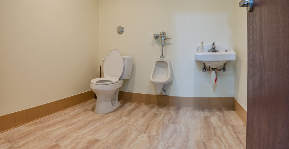 Multiple Private Restrooms