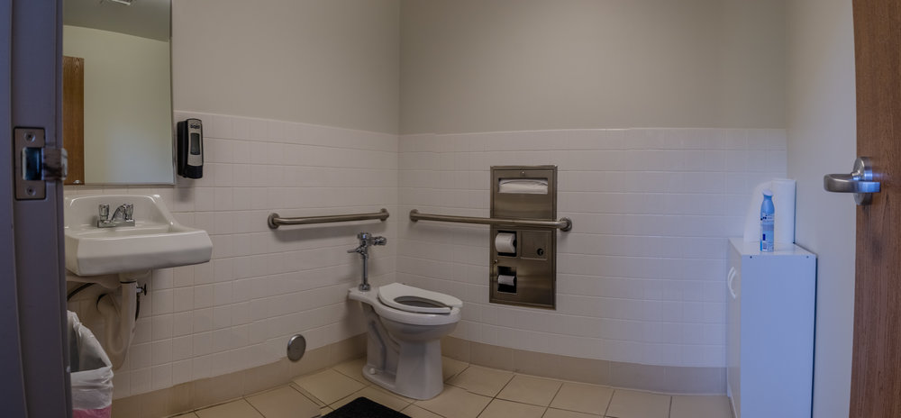 Private Restrooms (Click To View)