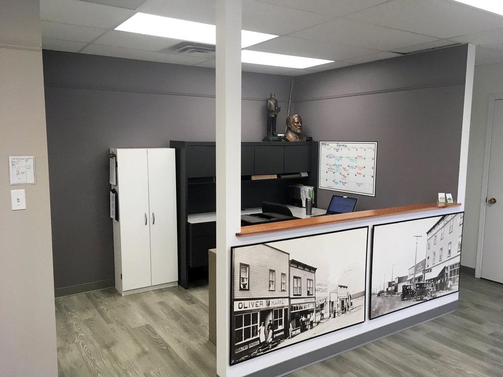 Staff workspace