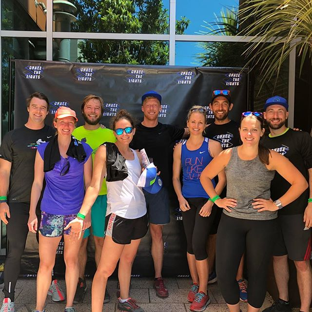 Small but super fun crew this morning racing to @triplevoodoo! . . . #chasethelightssf #triplevoodoobrewery #run #running #beerrun #sanfrancisco