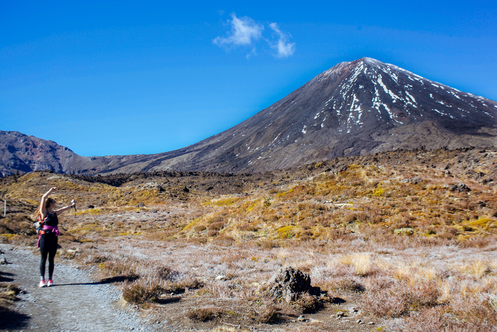 PUMPED TO SUMMIT MOUNT DOOM: Does this look like a girl who just started her period to you?