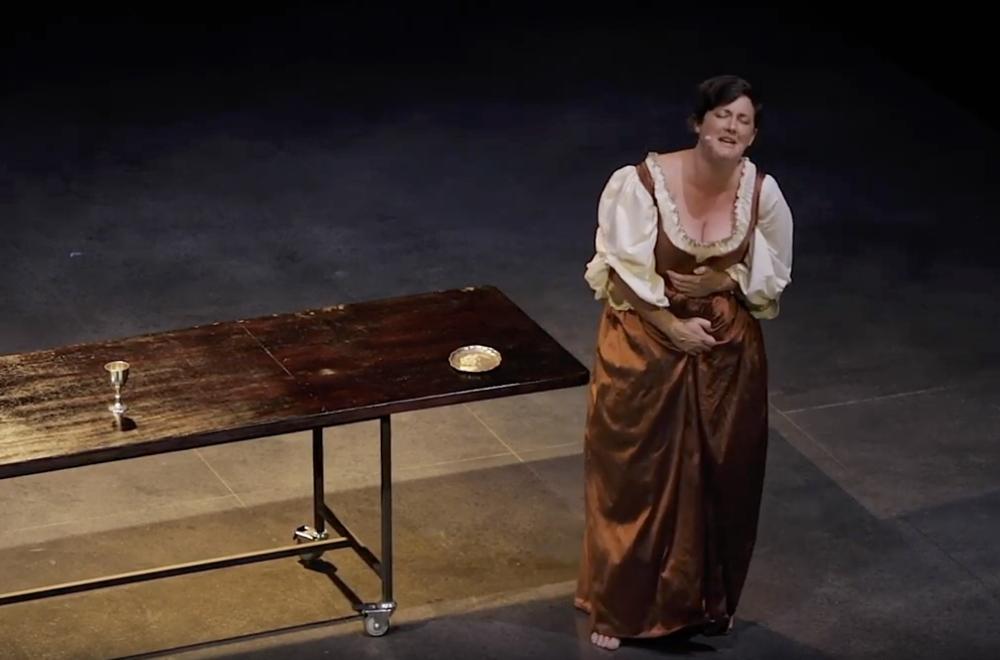 Qui Primo Aspect Noli   Aria from Scene IX: The Crime  Soloist: Anna Fraser, mezzo soprano