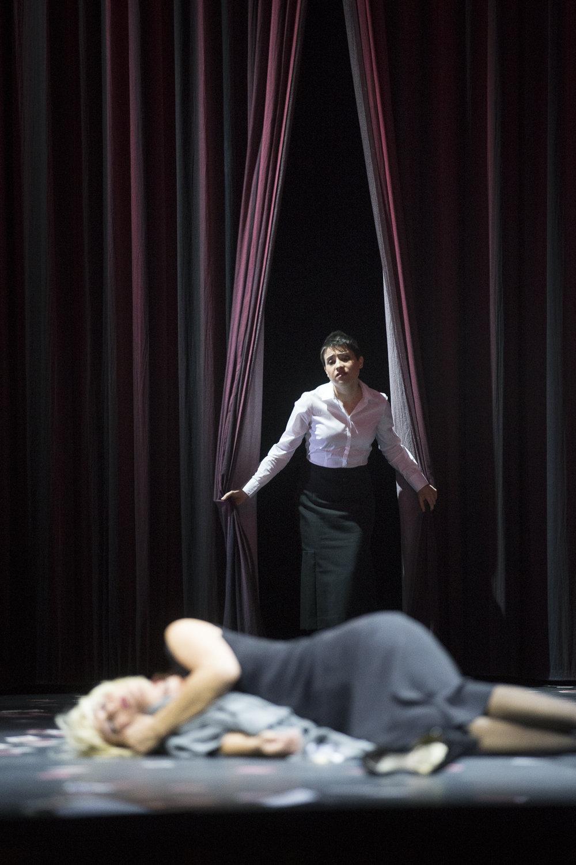 LA TRAVIATA, Annina, Theater an der Wien, Vienna  Credits: Werner Kmetitsch