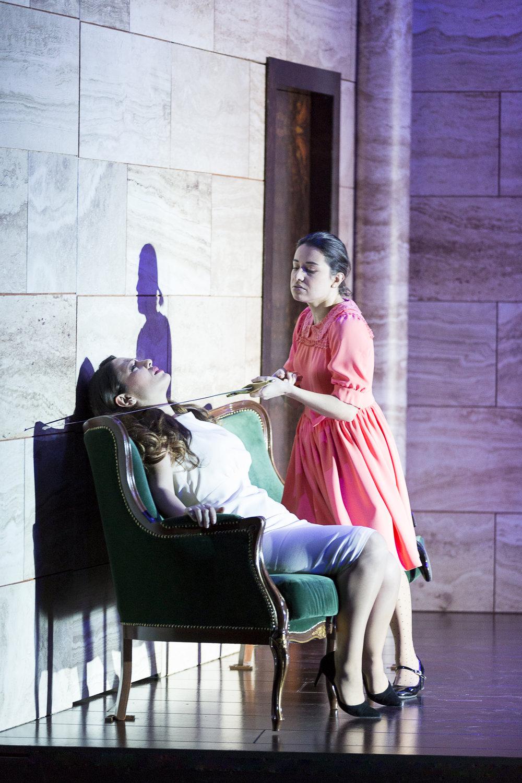 OTELLO, Emilia, Theater an der Wien, Vienna  Credits: Werner Kmetitsch