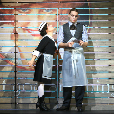 LA CAMBIALE DI MATRIMONIO, Clarina, Theater an der Wien - Kammeroper, Vienna  Credits: Rolf Bock