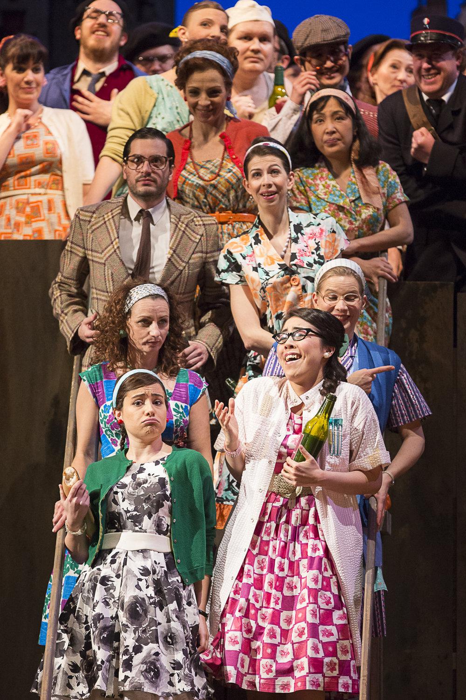 LE COMTE ORY, Alice, Theater an der Wien, Vienna  Credits: Werner Kmetisch
