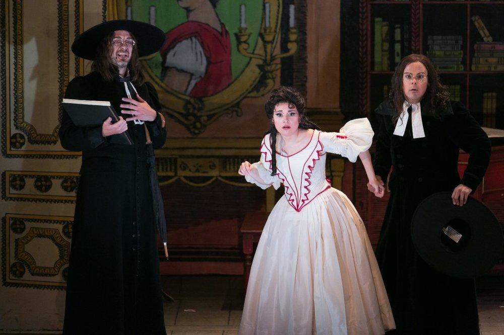IL BARBIERE DI SIVIGLIA, Rosina, Palm Beach Opera, Palm Beach