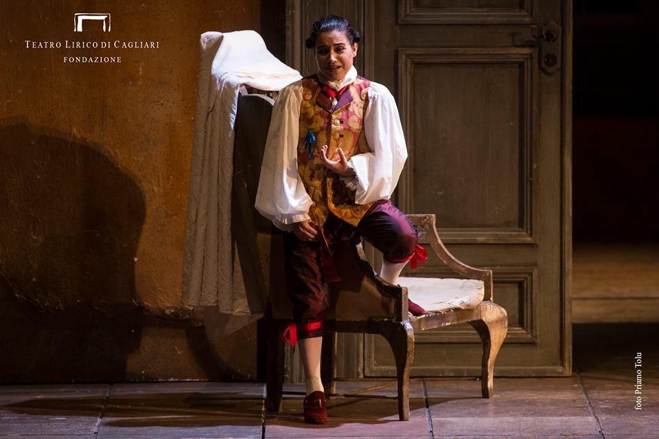 LE NOZZE DI FIGARO, Cherubino, Teatro Lirico di Cagliari, Cagliari  Credits: Priamo Tolu