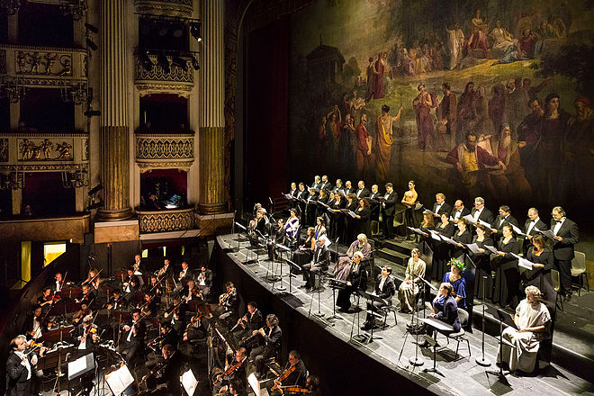 L'OLIMPIADE, Megacle, Teatro San Carlo, Napoli  Credits: Luciano Romano