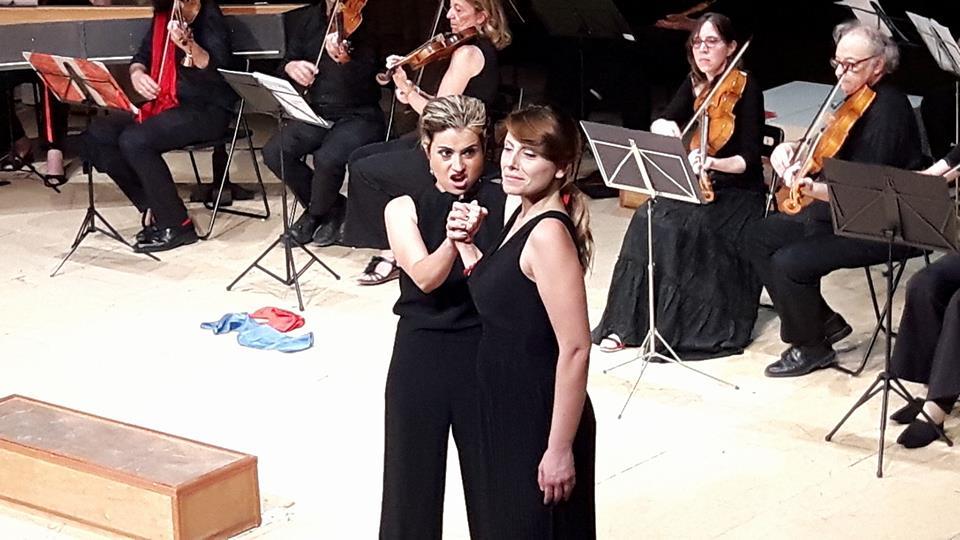 ENEA IN CAONIA, Andromaca, Teatro di Villa Torlonia, Roma
