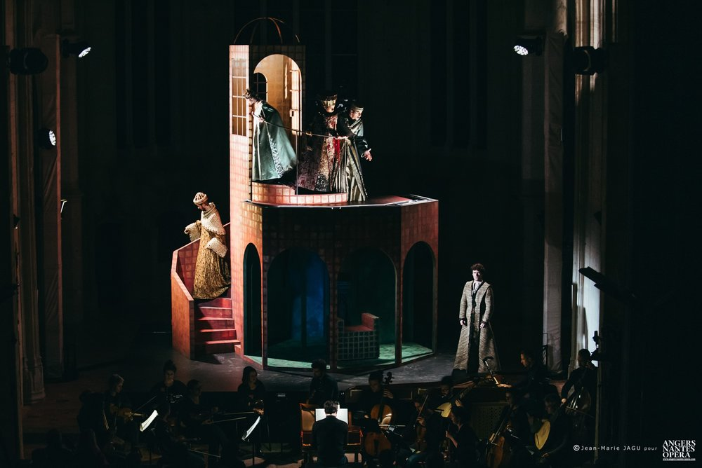 SAN GIOVANNI BATTISTA, Herodiade la Madre, Chapelle de Notre Dame de l'Immaculée Conception, Nantes  Credits: Jean-Marie Jagu