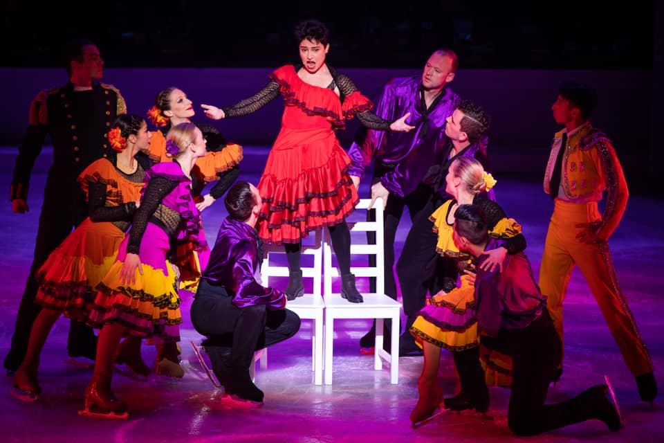 OPERA FESTIVAL ON ICE, Carmen, Royal Opera House Muscat, Muscat  Credits: Khalid al Busaidi