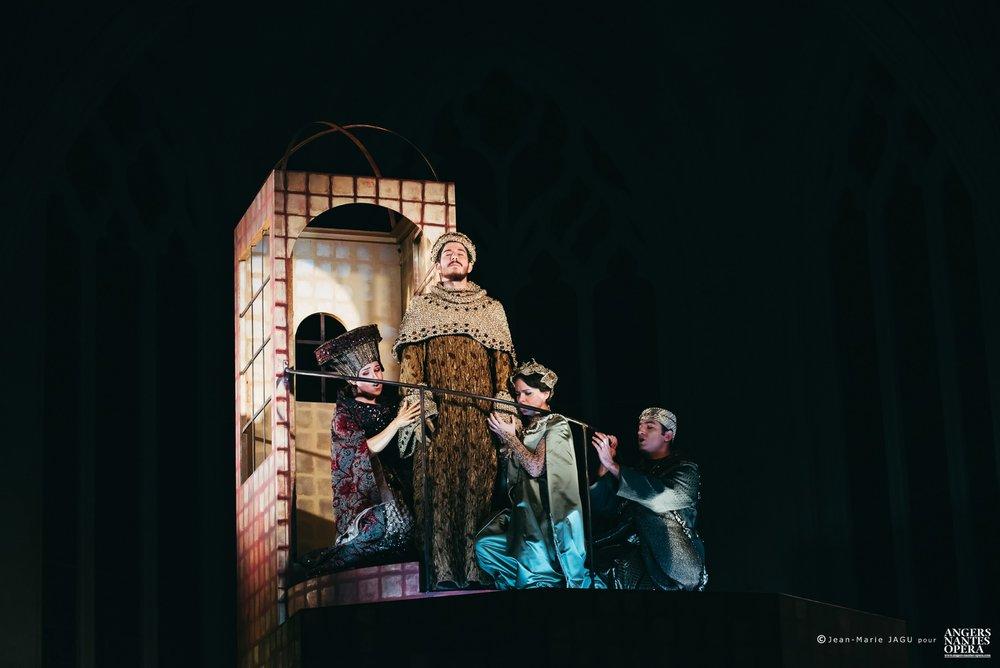 SAN GIOVANNI BATTISTA, Herodiade la Madre, Chapelle Notre Dame de l'Immaculée Conception, Nantes  Credits: Jean-Marie Jagu