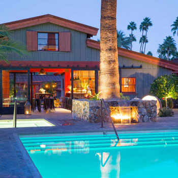 SPARROWS LODGE - Palm Springs, California