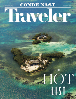 Conde Nast Traveler 2018 Hot List