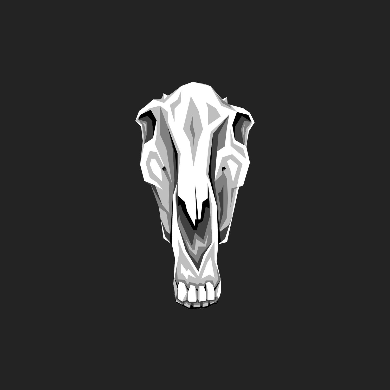 Horse Skull Textile Alex Van Keulen
