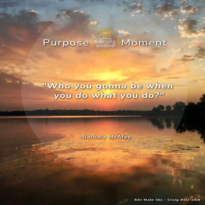 Purpose Moment - Barbara McAfee