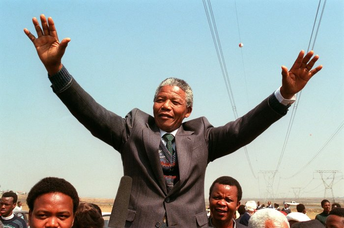 The first happened in 1964, when Mandela was put on trial for sabotage and conspiracy to overthrow the state. The second is the speech Mandela gave in 1994 when he was inaugurated as president.