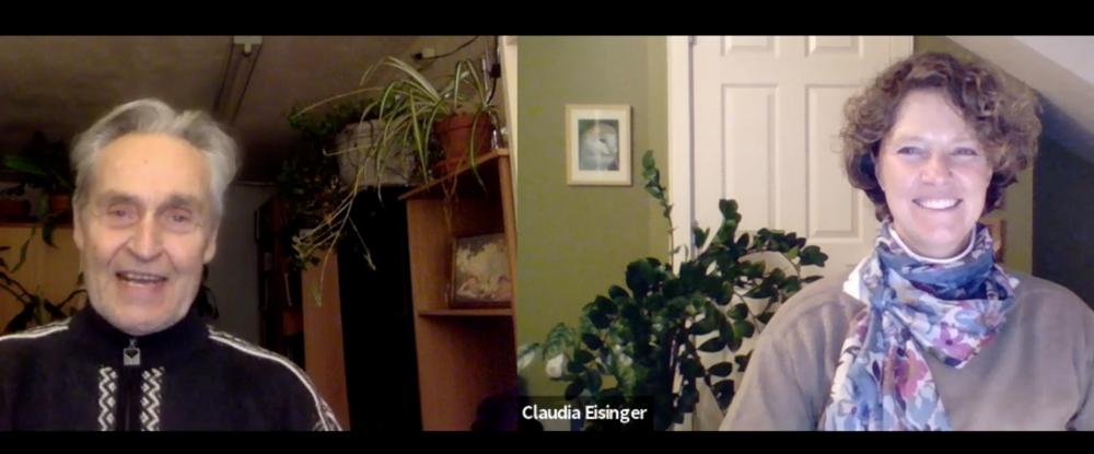 The founding of the aoc graduate community of practice:  Claudia Eisinger