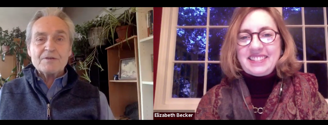 A journey, a new life path:  elizabeth becker