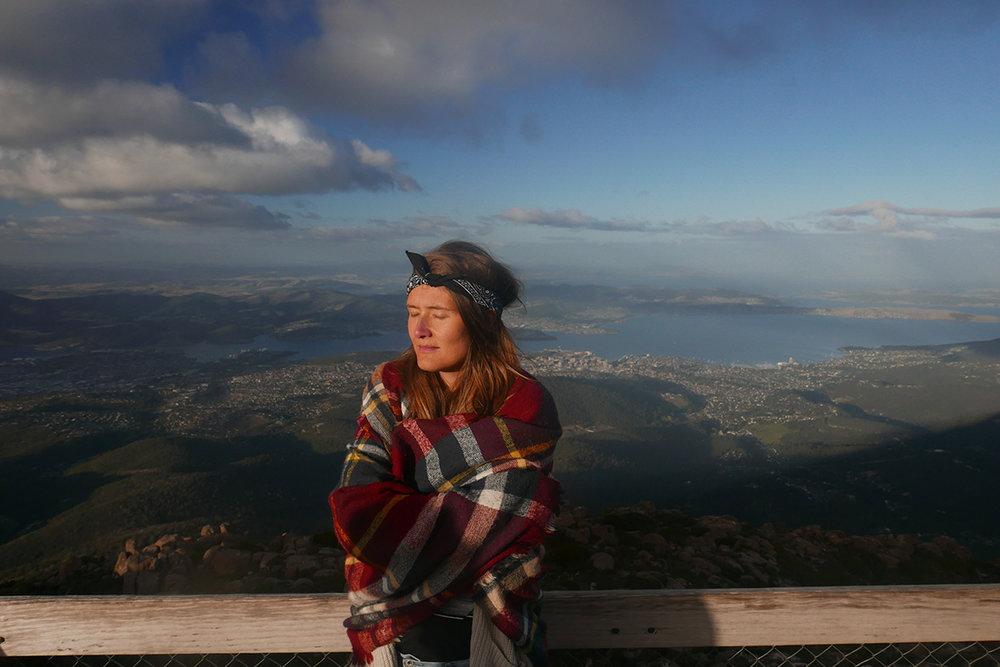 Last stop - Mt. Wellington in Hobart.