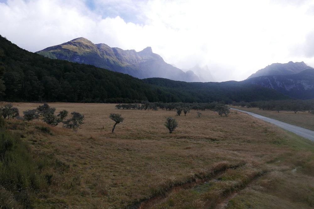 Here Gandalf rode to Isengard