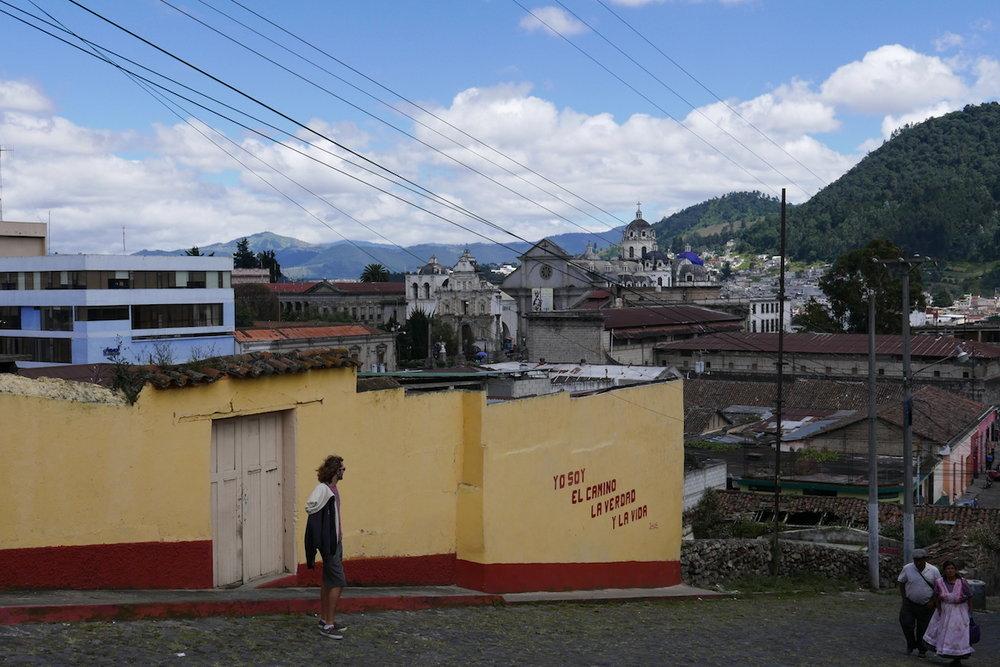 Quetzaltenango (Xela) views (and the tower)