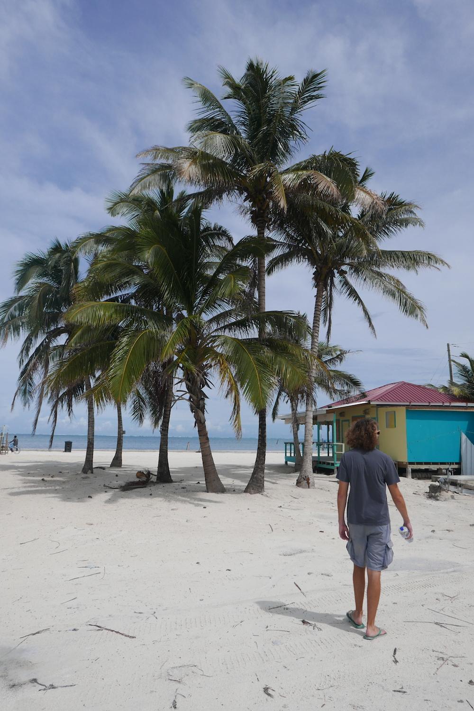 Sand of Caye Caulker