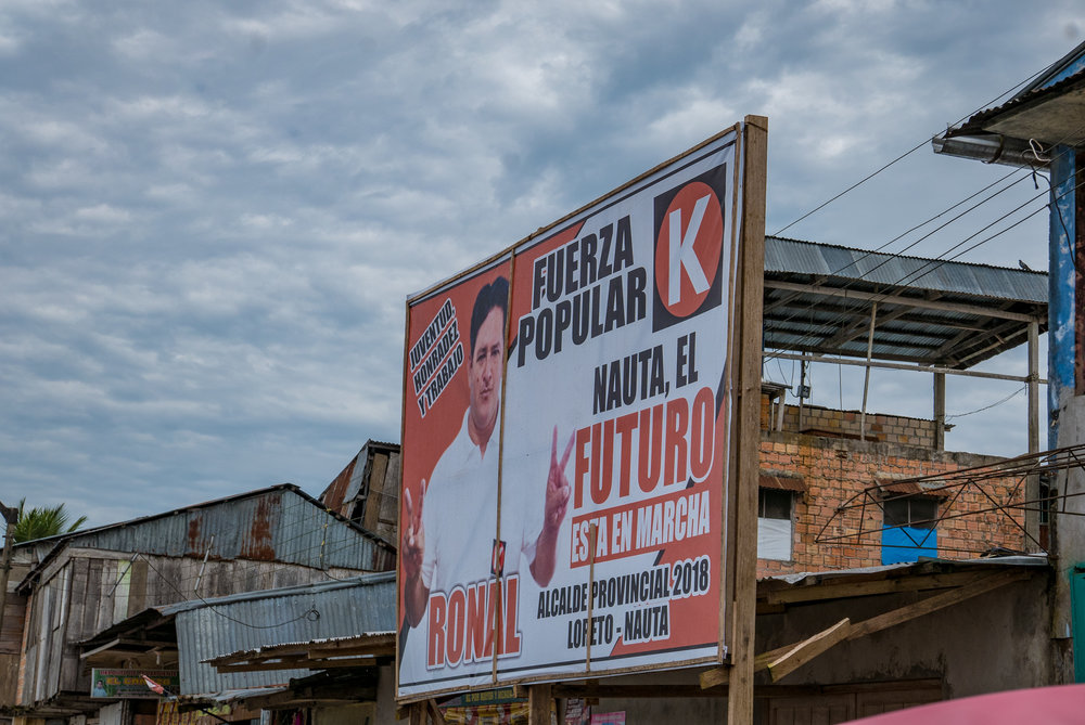 Great election ads Peru style