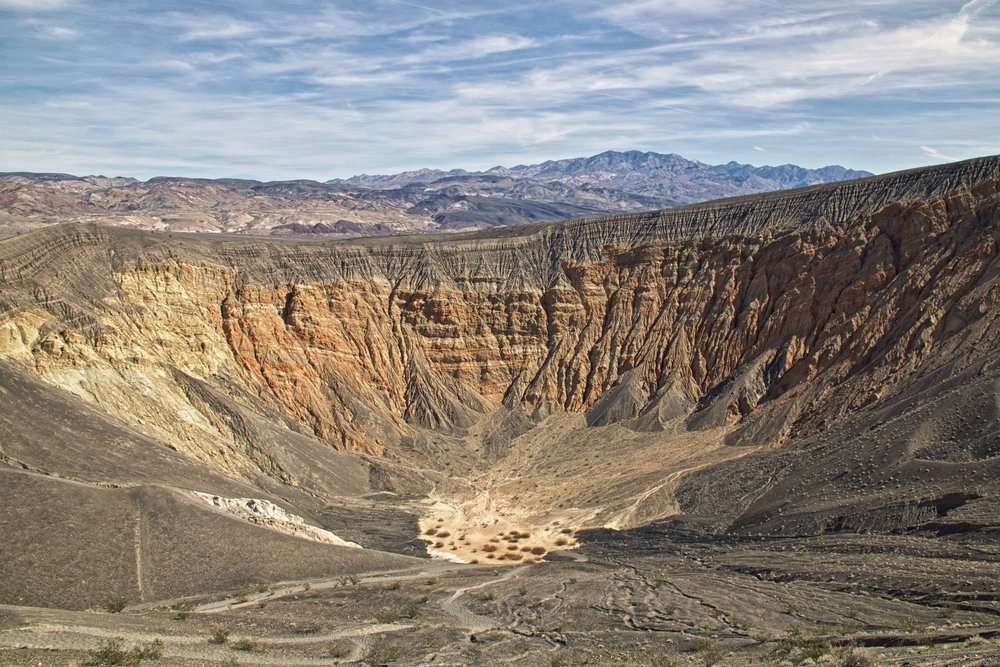 Ubehebe Crater in Death Valley - ©️ Nicole Atkins